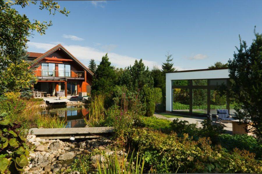 PROVISIONSFREI* Traumhaus auf höchstem Niveau mit  exklusivem Saunahaus und parkähnlichem Grundstück 53940 Hellenthal, Einfamilienhaus