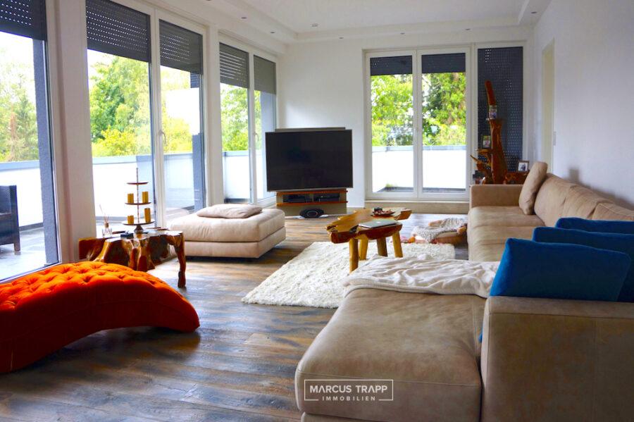 Exklusive Penthouse-Wohnung mit 4 Terrassen in Meerbuschs angesagtem Wohnviertel Büderich 40667 Meerbusch, Penthousewohnung